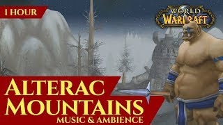 Vanilla Alterac Mountains - Music & Ambience (1 hour, 4K, World of Warcraft Classic)