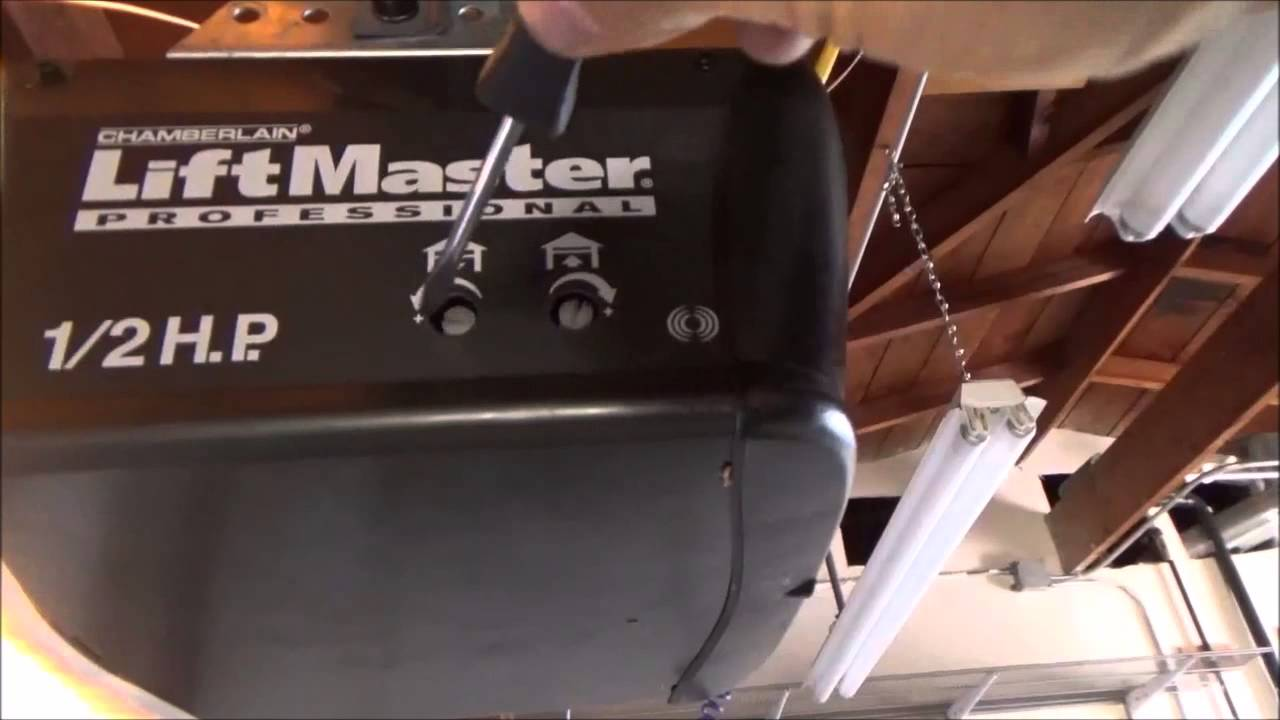 hight resolution of chamberlain liftmaster pro garage door wiring diagram