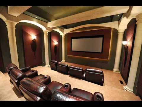 Home Theater Furniture I Home Theater Furniture Design Youtube