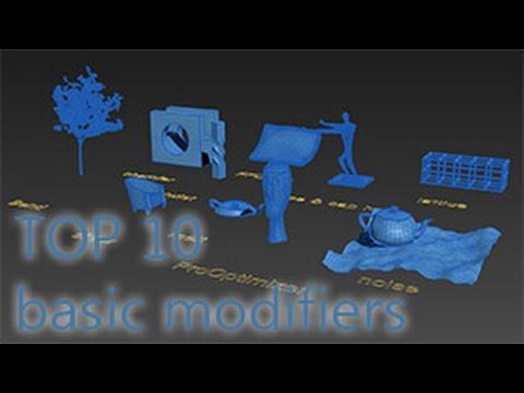 TOP 10 лучших простых модификаторов в 3ds max