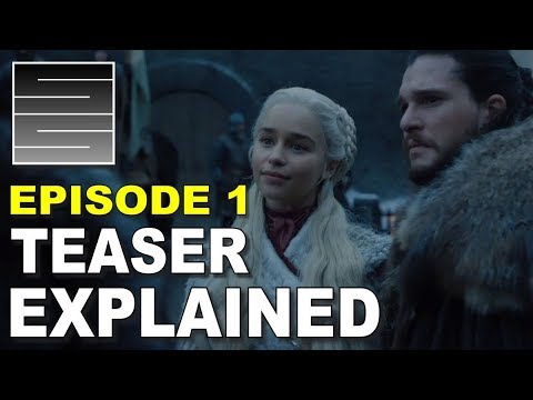 Game Of Thrones Season 8 Teaser Trailer Breakdown!