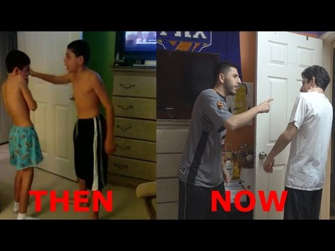 REMAKING OUR OLD YOUTUBE SHOW!! (8 YEARS AGO)