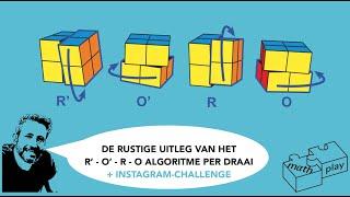 Een RUSTIGE UITLEG BIJ HET  R'O'RO-algoritme stap voor stap + Instagram-actie.