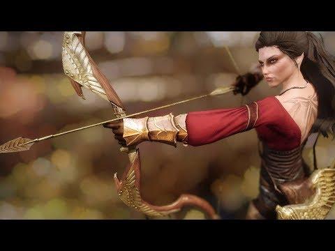 Skyrim - Стрельба в экстрим-действии (мини-эпизод серии Intense Action)