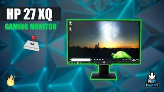 HP 27 XQ Quad HD 27 inch Gaming Monitor With AMD FreeSync