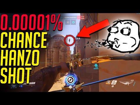 0.01% CHANCE Wraxu HANZO SHOT! SEAGULL GENJI QUINTIPLE KILL! - Overwatch WTF Funny Moments!