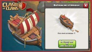 Clash of Clans / L'ARRIVÉE DU BATEAU / MISE A JOUR EN APPROCHE