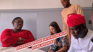 AFRICAN MARRIAGE PRANK GONE WRONG - Zfancy