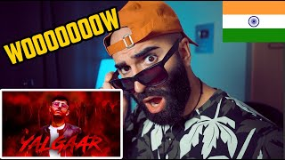 YALGAAR - CARRYMINATI X Wily Frenzy // REACTION (BEST RAP SONG?)
