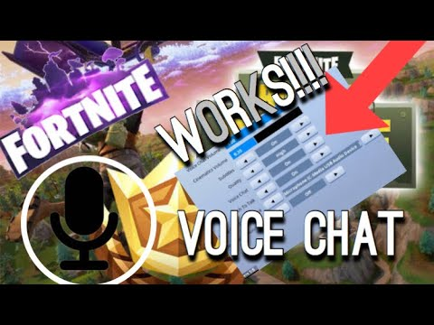 HOW TO TURN ON VOICE  CHAT IN FORTNITE MOBILE/IOS