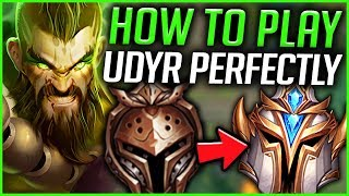 RANK 1 UDYR SHOWS YOU HOW TO PLAY UDYR PERFECTLY IN SEASON 9! S9 UDYR GAMEPLAY! - League of Legends