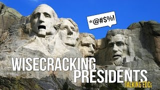 Presidents Day: Mount Rushmore Presidents, Talking About Knives