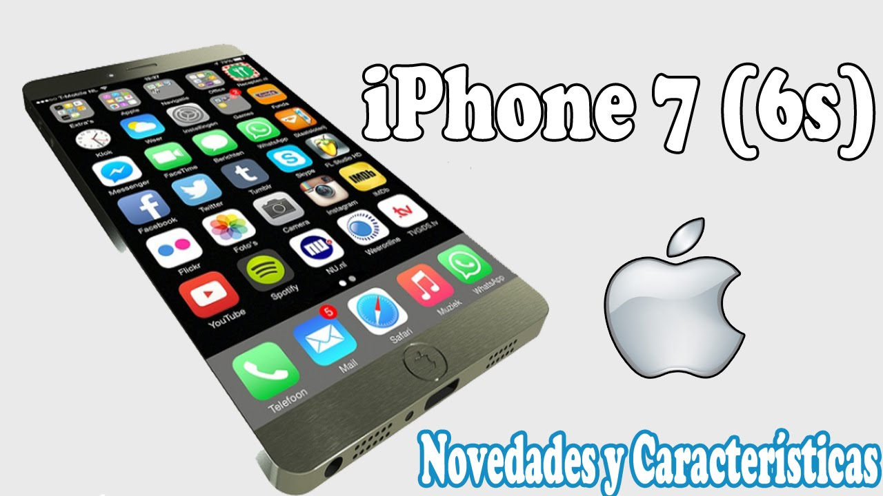 iphone 7 novedades y caracter sticas iphone 6s youtube. Black Bedroom Furniture Sets. Home Design Ideas