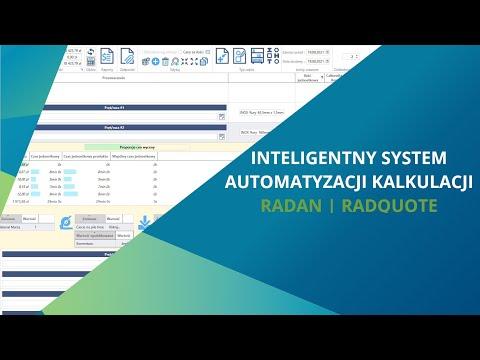 RADAN | RADQUOTE - Inteligentny system automatyzacji kalkulacji - Webinar