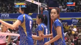 Волейбол  Женщины  Большой Чемпионский Кубок  Россия Таиланд  17 11 2013