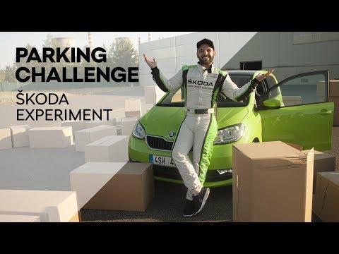 ŠKODA Experiment: Zaparkuje Pedrosgame ŠKODA CITIGO driftem?