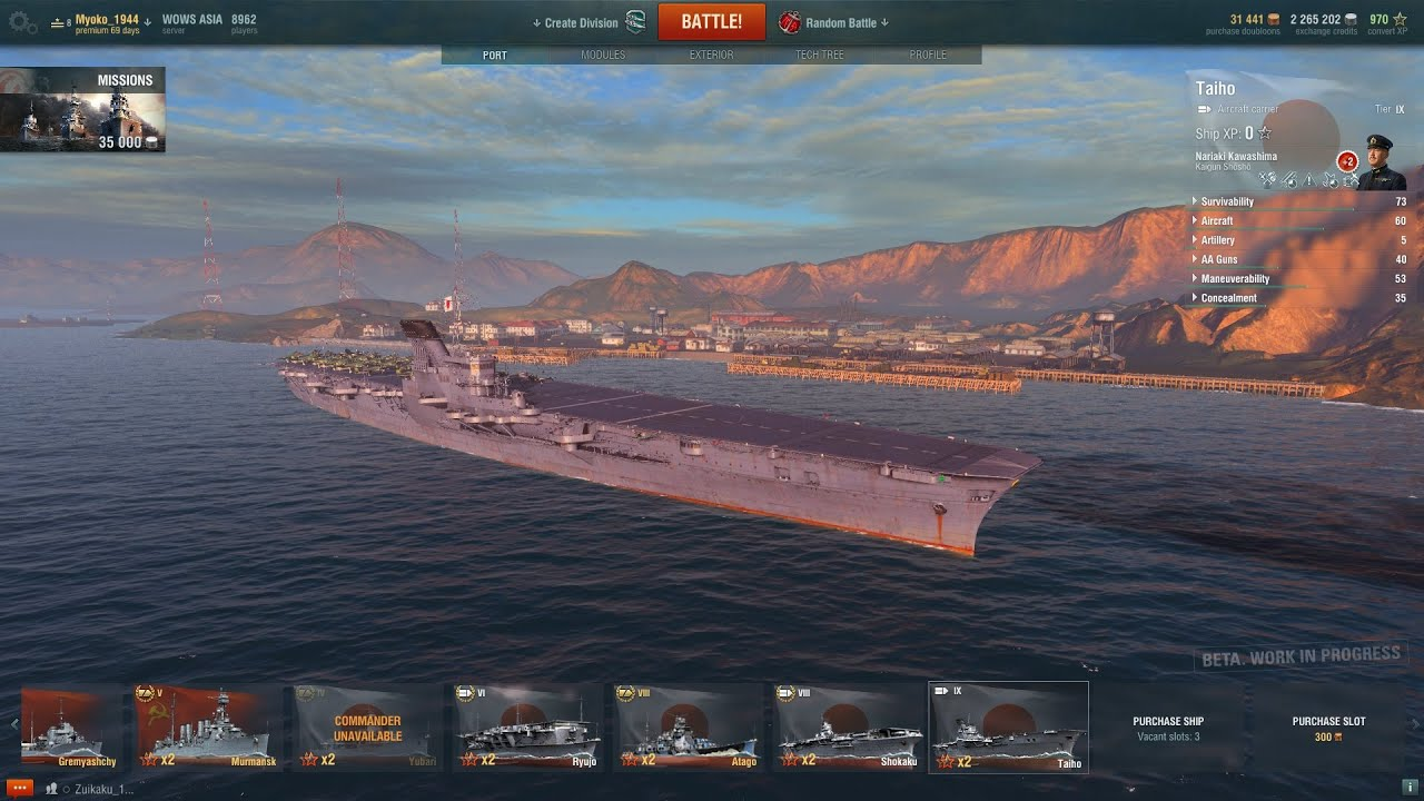 how to play carrier world of warships