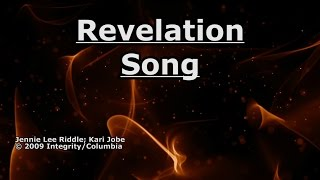 Revelation Song - Kari Jobe - Lyrics