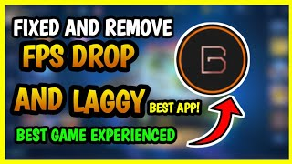 BEST APP TO FIX LAG AND FPS DROP NO ROOT/ROOTED 100%   MOBILE LEGENDS screenshot 2
