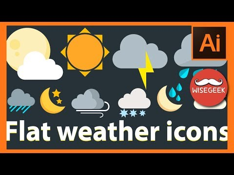 DIY Flat Weather Icons + Pack Download Link