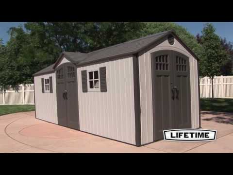 lifetime 15x8 shed instructions