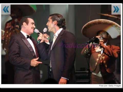 ALEJANDRO & VICENTE FERNANDEZ ME OLVIDE DE VIVIR -