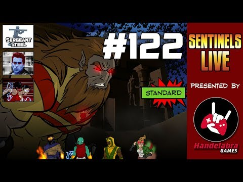 Sentinels Live #122 - Villain Team Bugbear and The Operative Preview!