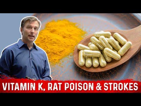 Vitamin K, Rat Poison & Strokes (Dr. Berg)