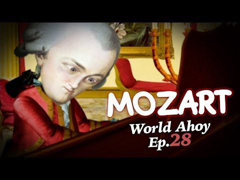 "WORLD AHOY Animation Series Ep.28  ""Mozart"""