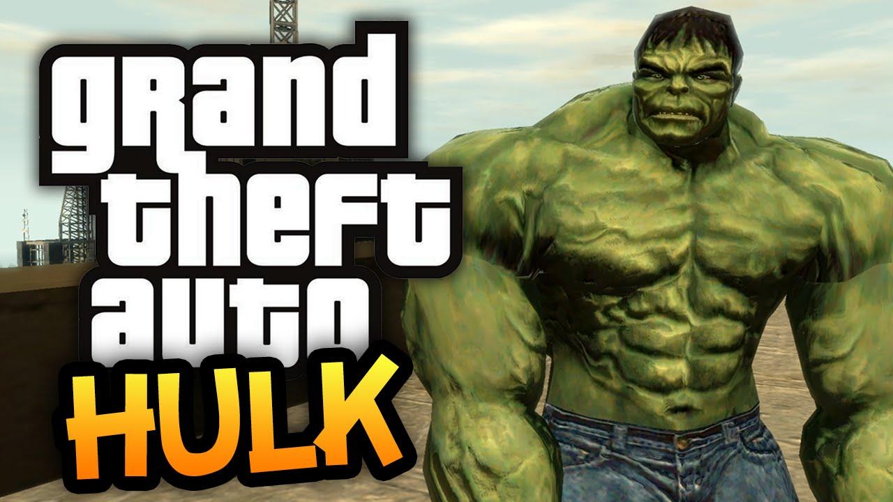 GTA 4: Return Of The Hulk! - (GTA Hulk Mod Funny Moments)