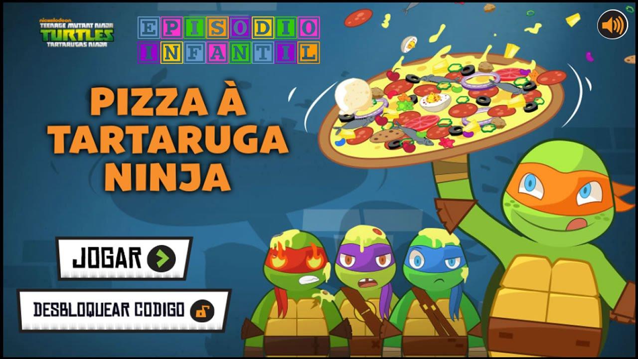 Juego Las Tortugas Ninja  Hacer Pizza  YouTube