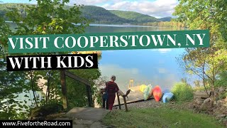 Cooperstown NY Weekend Getaway | Baseball Hall of Fame|Fly Creek Cider Mill | Family Travel Vlog 12