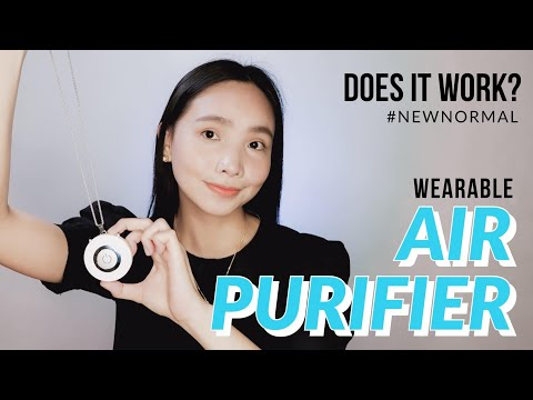 WATCH BEFORE BUYING! Are Wearable Air Purifiers effective against COVID-19? With Smoke Clearing Test