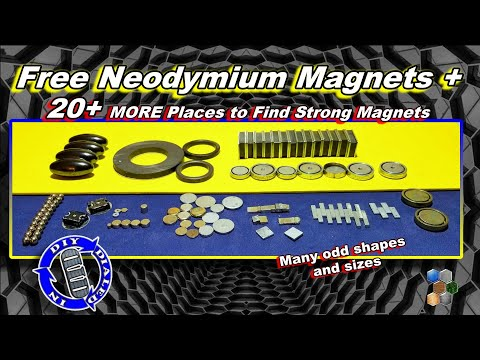 Free Neodymium Magnets - How To Find Strong Magnets Free - Part II