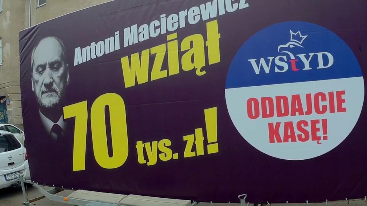 #oddajcie kasę. Konwój wstydu cz. I