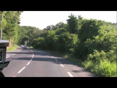 Bus Ride 2/4 - Guadeloupe (French Caribbean Island)