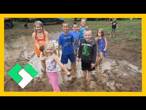 A MUDDY MESS AT ROCKY PARK (7.17.15 - Day 1204)