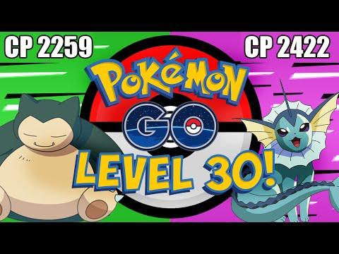 LEVEL 30 in Pokemon Go! 2000+ CP Pokemon & 115 Pokedex