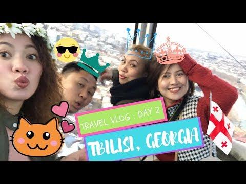 My Tbilisi Georgia Trip | Travel Vlog Day 2