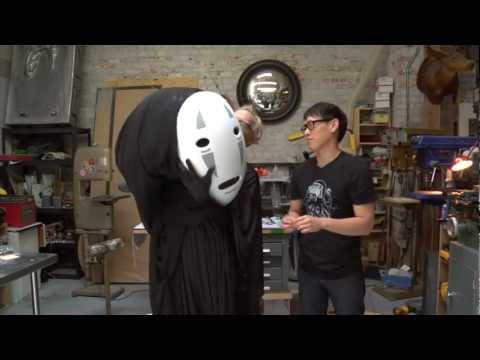 Inside Adam Savage's Cave: Spirited Away No-Face Cosplay