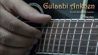 Guitar Chords Lesson by Pawan for Rafi Melodies - Tum Jo Mil, Gulabi Ankhen, Baar Baar Dekho