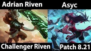 [ Adrian Riven ] Riven vs Irelia [ Asyc  ] Top -  Adrian Riven Stream