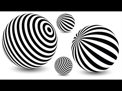 Best logo design | Illusion balls | 3D logo design | Adobe illustrator tutorials | 004 thumbnail