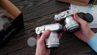 Просто розпакування Fujifilm X-A10 16-50mm II // Unpacking Unboxing Fujifilm X-A10 16-50mm ii ois