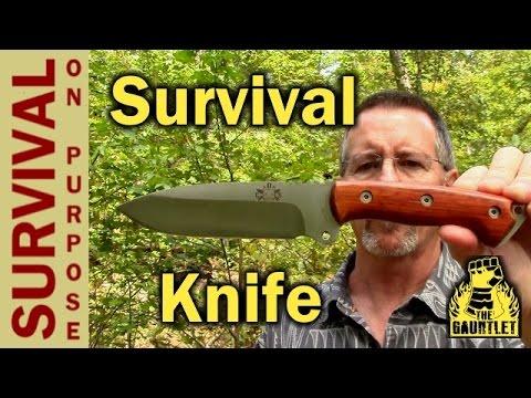 Celtibero Survival Knife Review - A Gauntlet Review