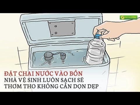 Mẹo Khử Mùi Hôi và Làm Sạch Bồn Cầu cực đơn giản | Bách hóa XANH