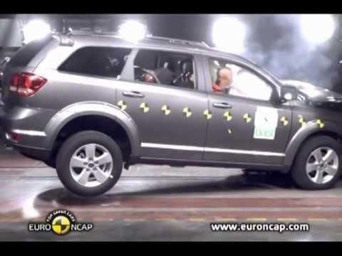 Crash Test Fiat Freemont 2012 Youtube