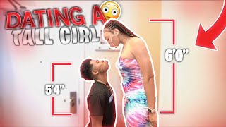 I DATED A TALL GIRL FOR 24 HOURS! *I felt like her son*