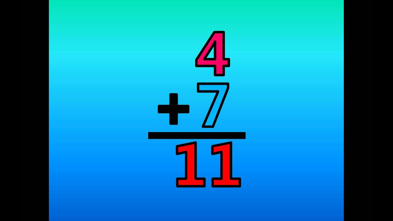 Math Addition Facts - Adding by 7\'s - YouTube
