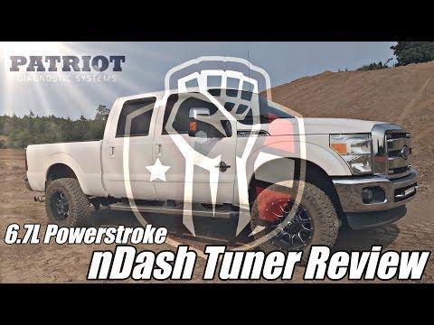 Patriot Diagnostics nDash Tuner Review - 6 7L Powerstroke